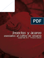 insectos asociados al cultivo de sesamo