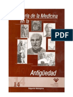 Historia de La Medicina en La Antiguedad-malaespina Edgardo