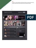 Diseño de Web en Photoshop Para Revista