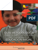 Guia Implentacion Del Curriculo