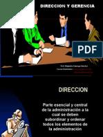 Direccion y Gerencia