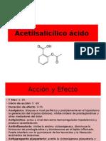 Acetilsalicílico ácido