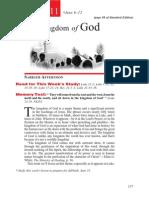 2nd Quarter 2015 Lesson 11 Teachers Edition the Kingdom of God