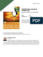 Administracion Avanzada de Servidor Linux