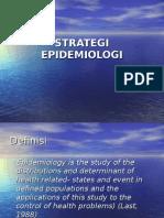 2. Strategi Epidemiologi