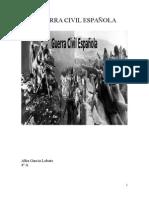 Trabajo Sobre La Guerra Vicil Española
