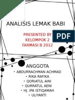 Analisis Lemak Babi Dengan Kromatografi Cair Kinerja Tinggi.pptx