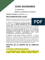 Cátedra Derecho Sucesorio