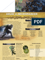 Mage Wars - Druid vs Necromancer Rulebook