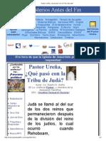 Pastor Ureña, ¿Qué Pasó Con La Tribu de Judá