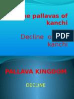 The Pallavas of Kanchi - Their Decline