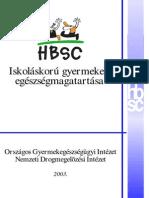 HBSC Nemzeti Jelentes 2003
