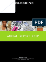 Annual Report Moleskine 2012
