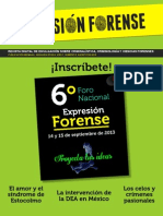 Expresion Forense No 5 Agosto 2013