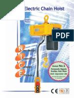 Electric Chain Hoist 950158 BB BLFD Series Eng