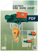 Electric Wire Rope Hoist 950168DC BB Eng
