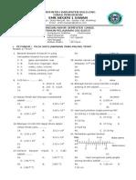 Soal Fisika UAS X-MM 20