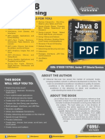 Java 8 Programming Black Book