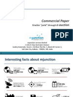 Eauction of Commercial Paper