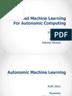 Automated Machine Learning for Autonomic Computing