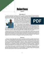 Be Relentless - David X