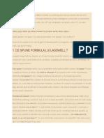 Formula Lui Lasswell