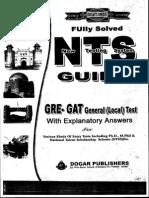 nts gat general Test preparation guide book PDF Free Download