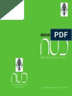 AUD Information Bulletin