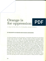 Orange is for Opression