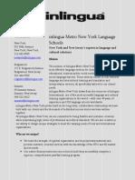 Language Center New York