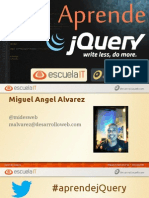 Aprende JQuery - Introduccion a JQuery