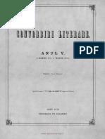 Convorbiri Literare 1 Feb 1872 v Alecsandri Anton Pann