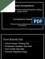 Bab 10. Teori Kinetik Gas
