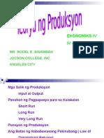 Panahon Ng Produksyon