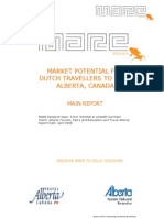 Market Potential for Dutch Travellers to AB