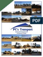 pcs transport - company profile