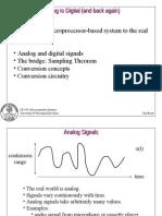 Analoge to Digital