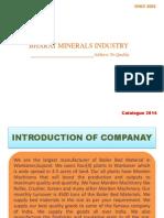 Bharat Minerals Ltd