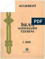 Ali Şeriati - İslam Sosyolojisi Üzerine.pdf