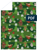 Woodland Friends Giftwrap