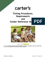 20140319 20-49-15 Carterstestingprocedures,Requirementsandvendorreferencemanual February2013