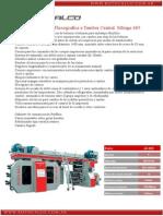 Impresora Flexografica Mirage 685