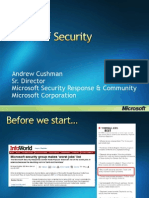 D1T1 - Andrew Cushman - State of Security