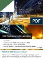 Cisco Live - CCIE R&S Techtorial - TECCCIE-3000