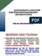 Pemaparan Tentang PP NO.16 TAHUN 2010.ppt