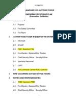 Evacuation Guidelines - Industrial Premises