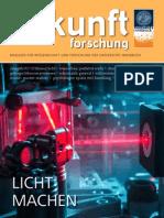 Forschungsmagazin der Universität Innsbruck - 01/2015