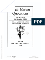 Stock Market Quotations