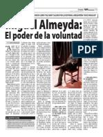 Miguel Almeyda en el VP Semanario