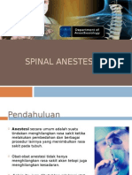 Spinal Anestesi